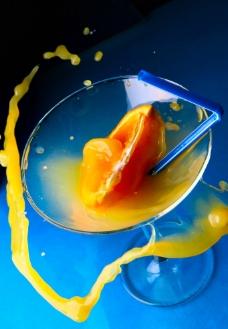 动感橙汁图片