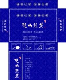梵山藤茶包装盒图片