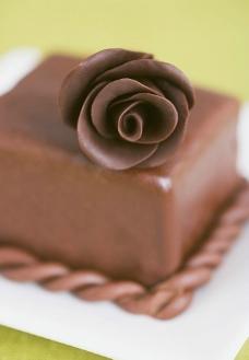 巧克力甜点糕点图片