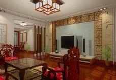 中式家园宜居样板设计图