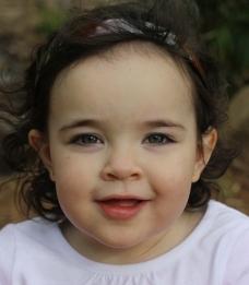 外国儿童 小女孩图片