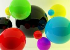 彩色球图片
