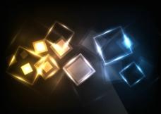 动感炫彩光线光晕光点炫光图片