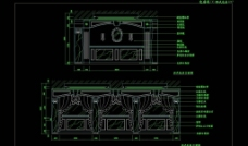 CAD餐厅设计素材 餐厅施工图片