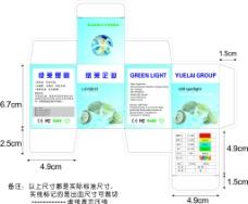 LED射灯包装图片