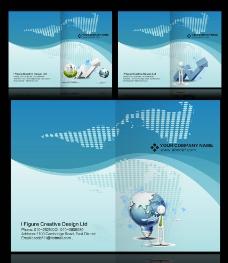 动感企业画册封面设计下载图片