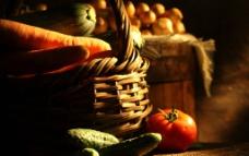 西红柿 黄瓜 胡萝图片
