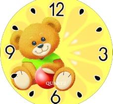 儿童钟表背景图片