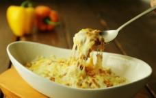 西餐 美食 意大利面 奶酪面图片