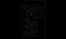 CAD设计之苗木图片