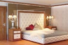 卧室欧式模型图片