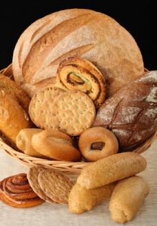 糕点面包图片
