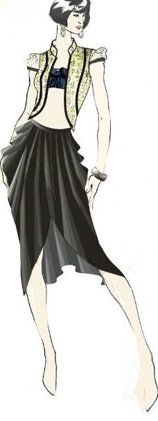 中国风服饰设计图片