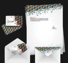 时尚VI办公系列设计矢量素材图片