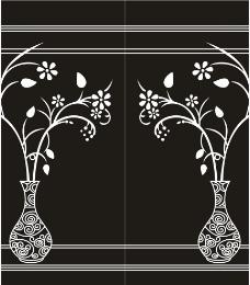 古典花瓶图片