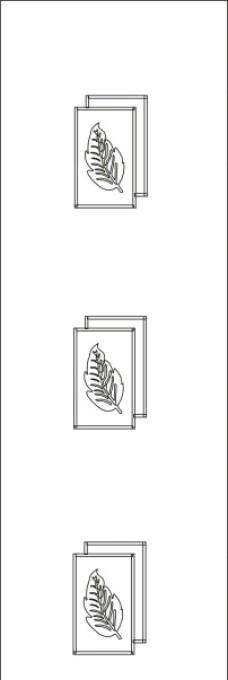 雕刻玻璃门花纹/玻璃门花纹/雕刻花纹