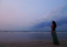 巴厘岛沙滩图片
