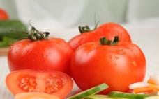 西红柿 黄瓜片图片