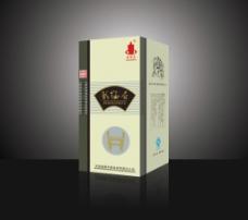 彰德府酒包装(展开图)图片