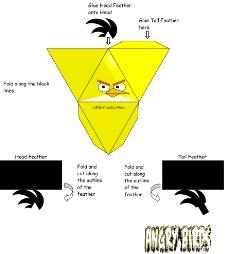 黄鸟包装箱设计图片