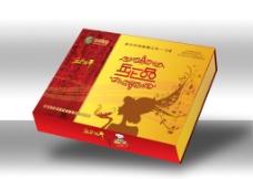 辣椒礼盒包装(展开图)图片
