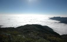 贵州梵净山晨雾图片