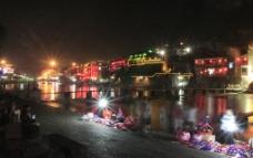 沱江夜色图片