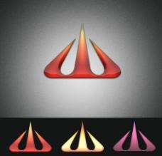 山字形 Logo 设计图片