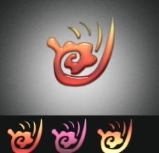 吉祥云 Logo 设计图片