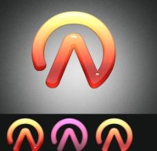 A字形 Logo 设计图片