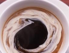 咖啡特写图片
