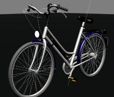 自行车3D模型图片