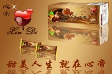 巧克力包装立体设计图片