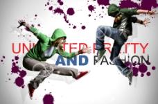 时尚街舞海报图片