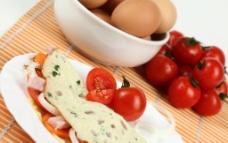 番茄 鸡蛋卷 胡萝卜 西红柿 生鸡蛋图片