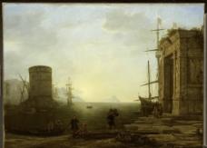 西方油画绘画艺术图片