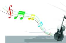 音乐旋律图片
