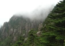 黄山山峦美景图片
