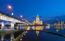 莫斯科的傍晚图片
