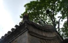 潭柘寺屋顶图片