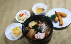 日式套餐乌冬面图片