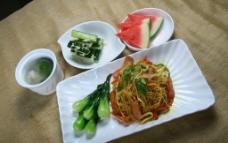 东南亚式套餐新加坡炒米粉图片