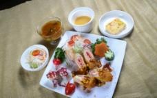日式儿童套餐图片