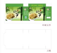 竹笋食品包装图片