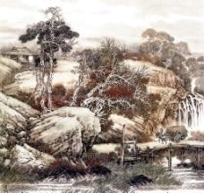 十里山水图片
