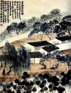 莲池书院图图片