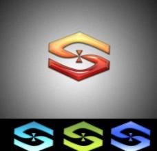 双手 水晶 logo设计图片