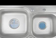 不锈钢 双斗 水槽图片