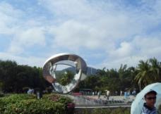 海南天涯海角的爱情广场图片