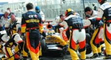 赛车喷画图片
